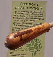 Bethlehem Olive Wood Holy Cross baton